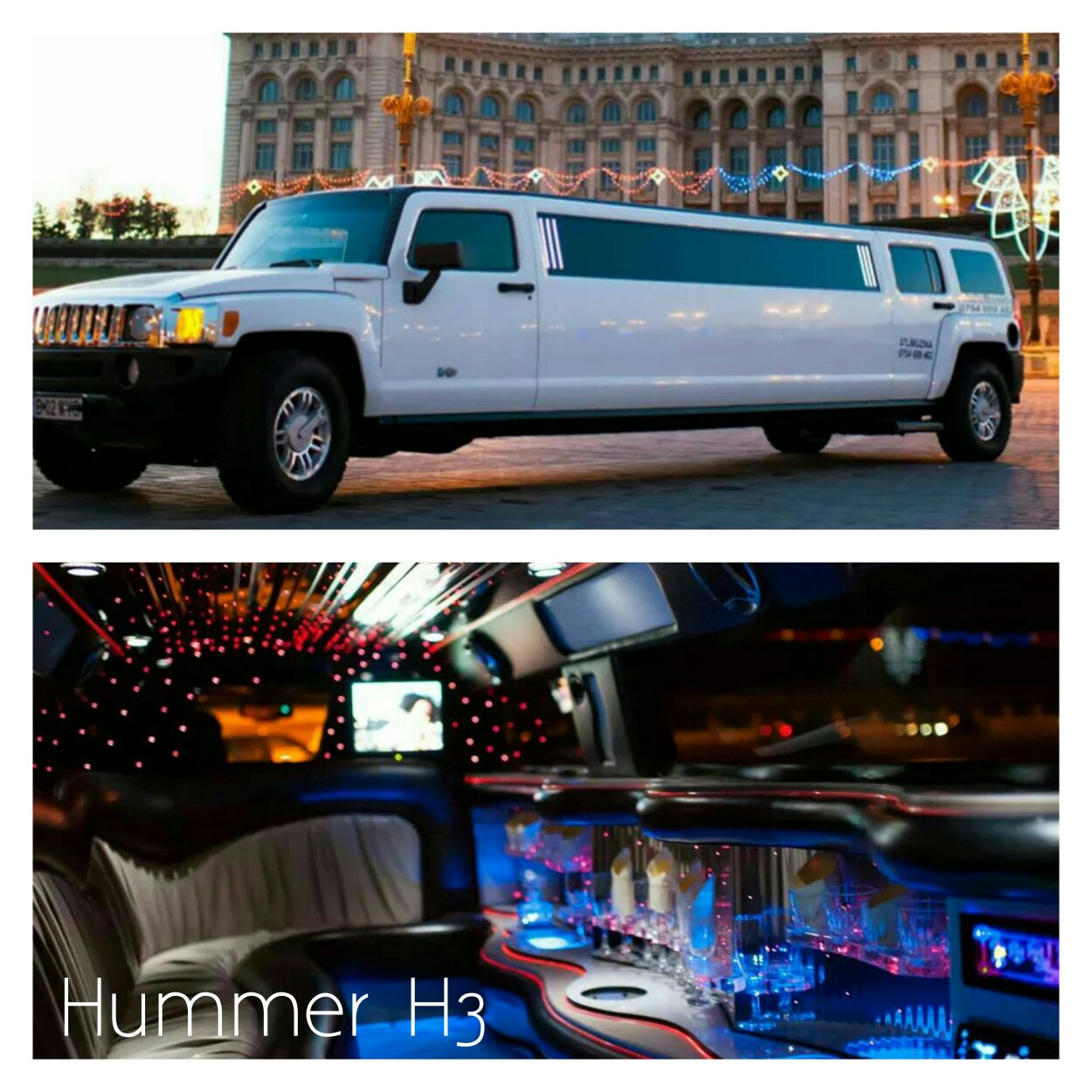 Limousine hummer in romania