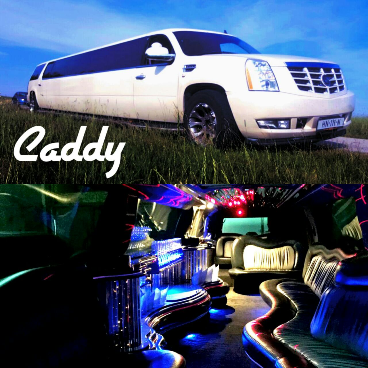 Limousine caddy in romania