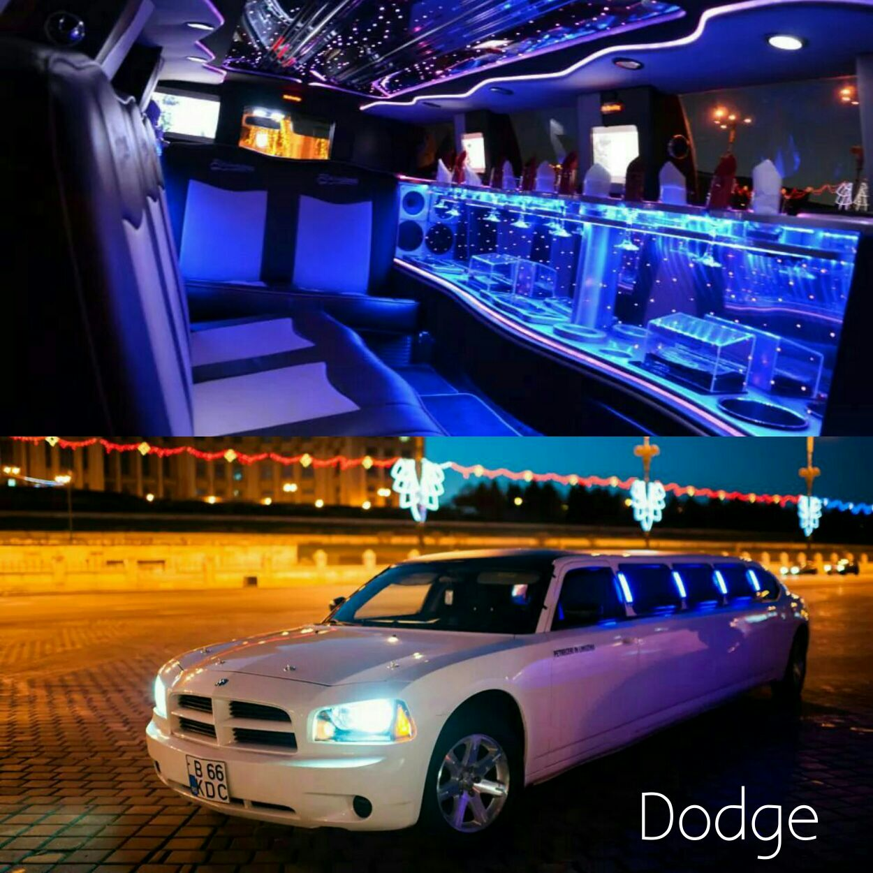 Limousine dodge in romania